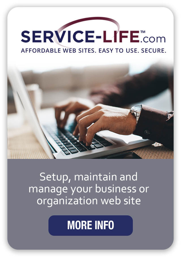 Service-Life.com - Setup, maintain and manage your business or organization website.